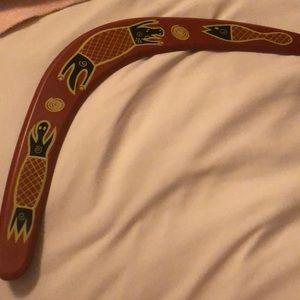 Throwing boomerang